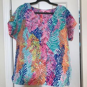 Size L Lilly Pulitzer Blouse
